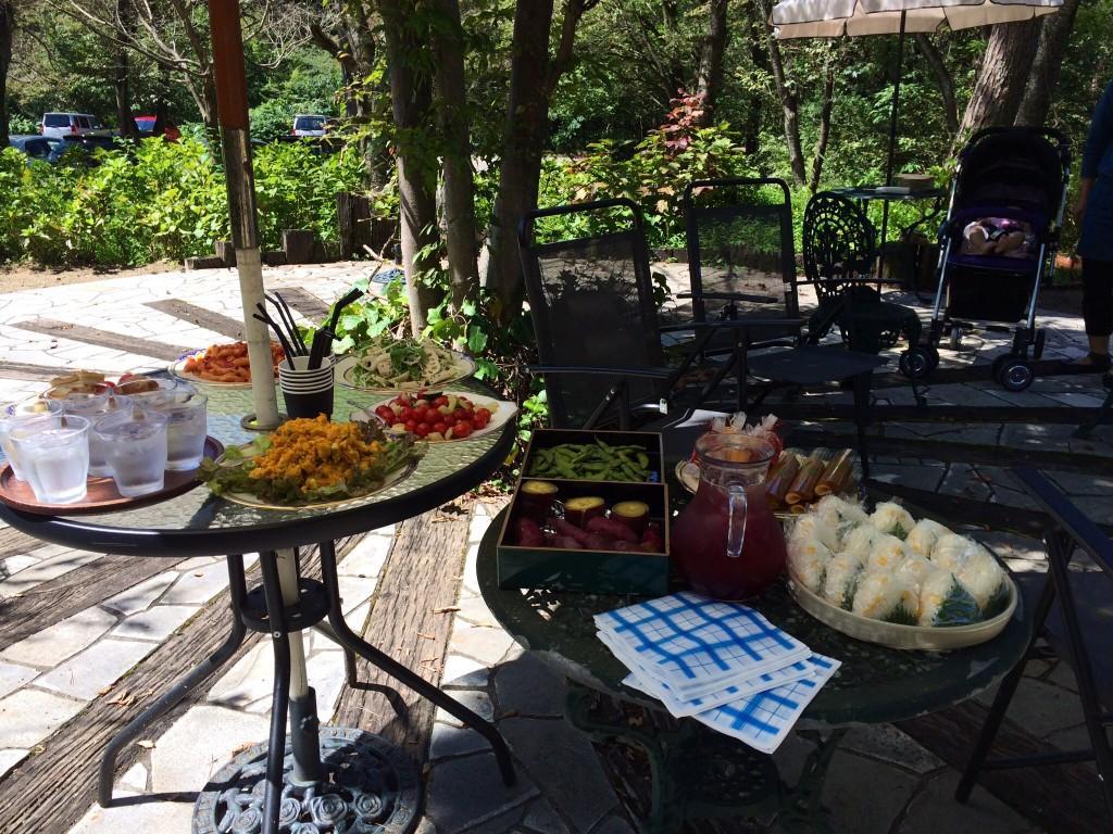 みんなのお弁当展〜楽しくピクニック〜 オープニングパーティーピクニック!