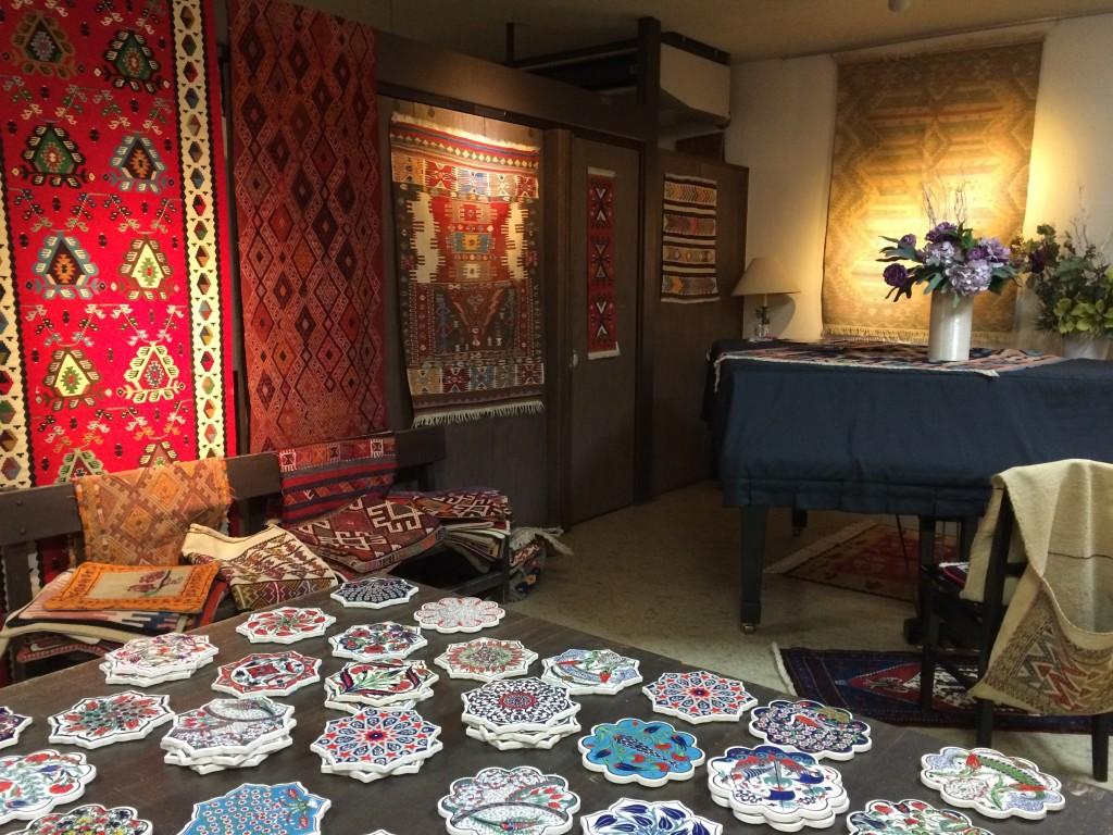 トルコキリム・絨毯展示会 只今開催中です!