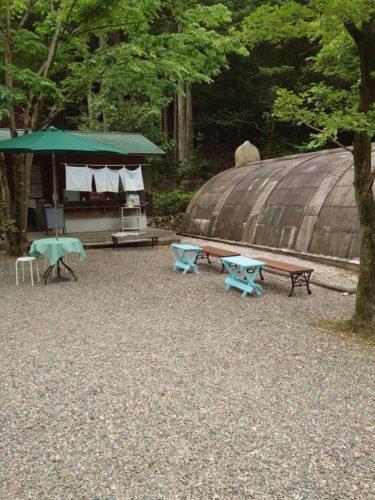 青空カフェ ~風庵はなれ~ (仮称) 週末オープンしました