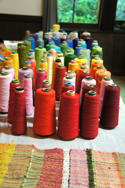さをり織り workshop